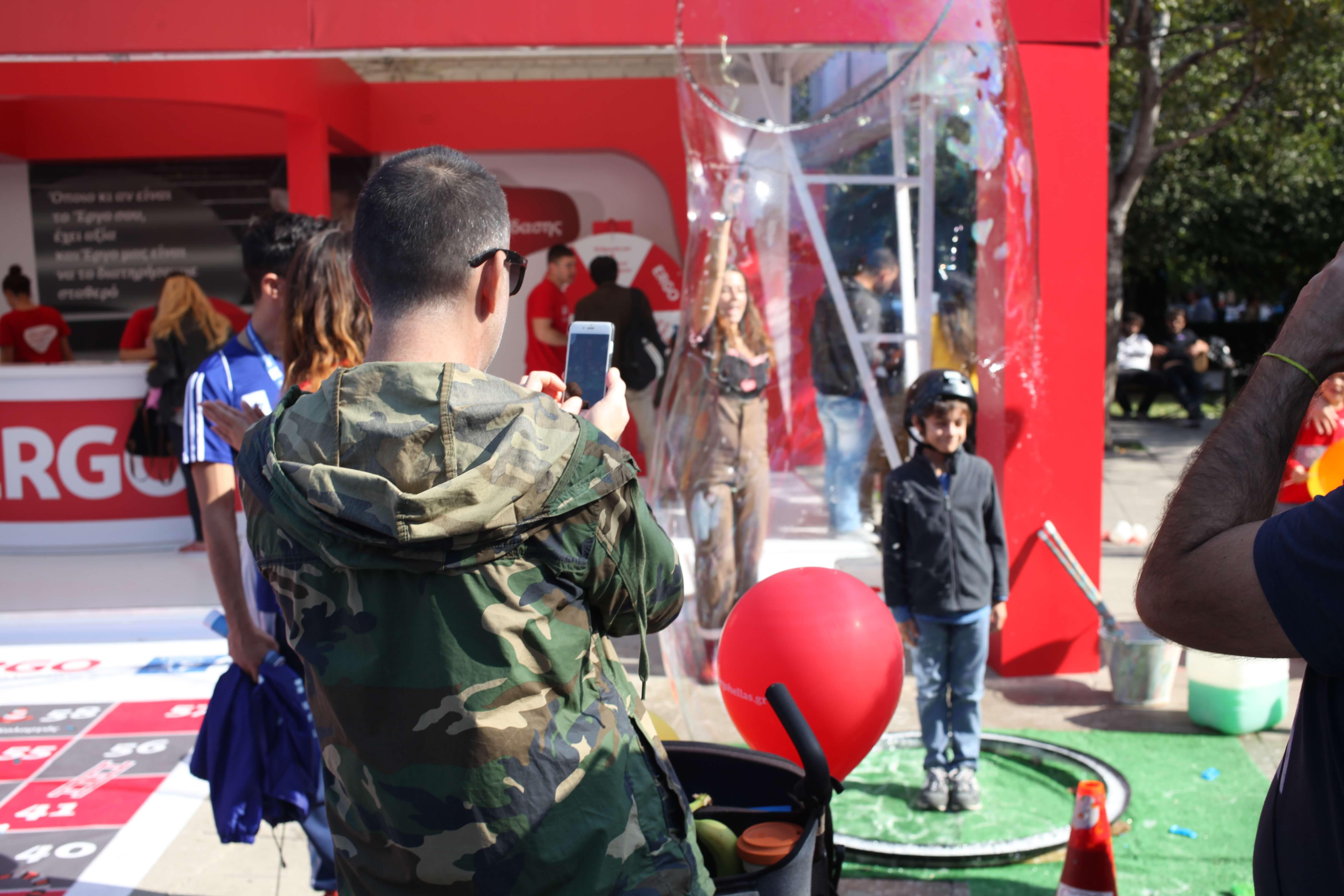 Μπουρμπουλήθρες Αυθεντικός Μαραθώνιος - Mr & Ms Bubble - Fabrica Athens