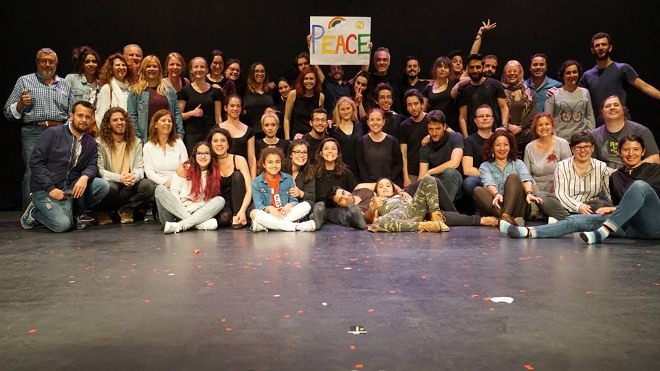θέατρο του καταπιεσμένου, ισπανία, ανταλλαγή νέων, φάνης κατέχος, theater of the oppressed, theater, fabrica athens, youth exchange, spain, greece, athens,